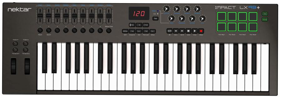 Nektar Implact LX49+ 49 Tuş Midi Klavye