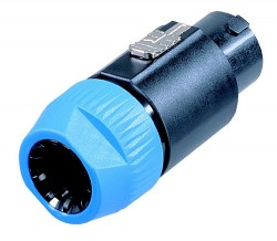 Neutrik - NL8FC Neutrik Kablo Tipi 8 Pinli Speakon Fiş