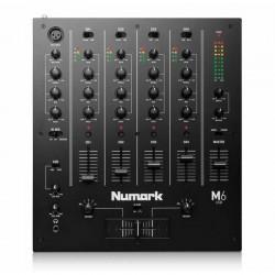 Numark - Numark M6 4 Kanal USB 4 Kanal DJ Mikser