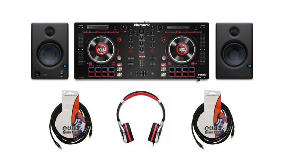 Numark MixTrack Platinum Full Set
