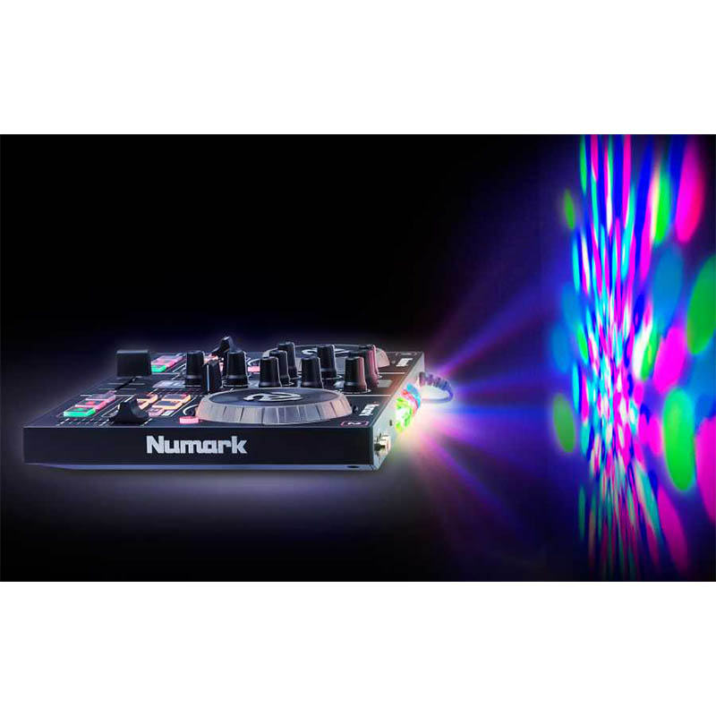 Numark PartyMix Led Aydınlatmalı Virtual DJ Controller