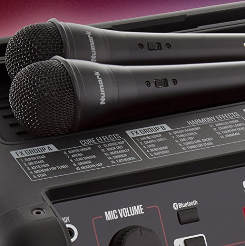 Numark Sing Master Mikrofonlu Karaoke Ses Sistemi