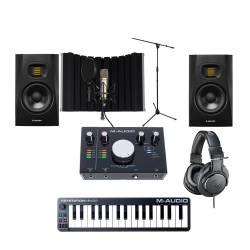 InfoMusic Stüdyo Paketleri - Orta Seviye Full Performans Stüdyo Kayıt Paketi