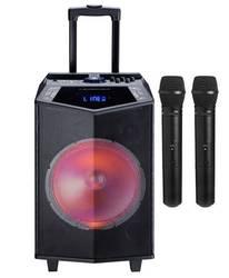 Oyility - Oyility DK-15 400 Watt Taşınabilir Portatif El Mikrofonlu Hoparlör