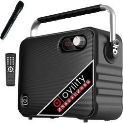 Oyility - Oyility T-6 EL 40 Watt Taşınabilir Portatif El Mikrofonlu Seyyar Hoparlör