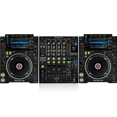 Pioneer DJ - Pioneer DJ CDJ2000 NXS 2 + DJM900 NXS2 Nexus 2 Full Set