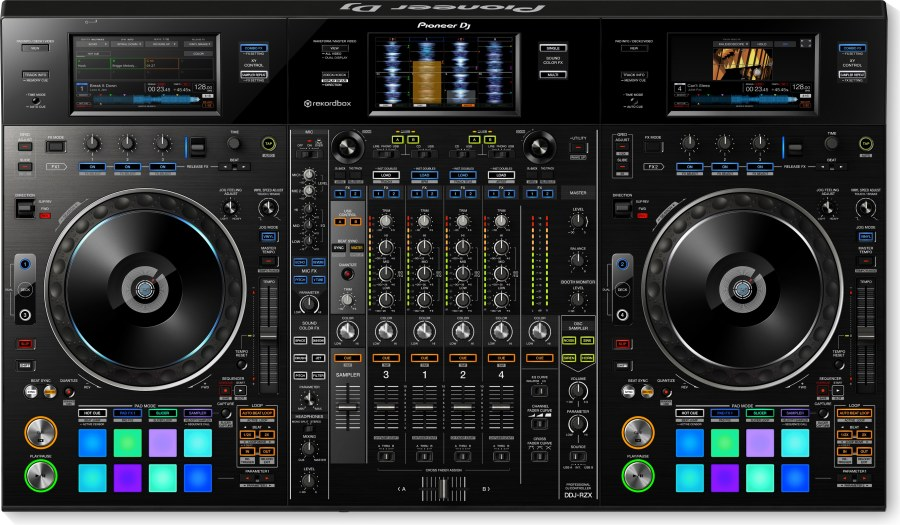 Pioneer DJ DDJ RZ/X Profesyonel 4 Kanal Rekordbox Controller