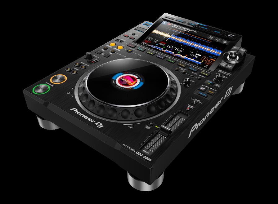 Pioneer DJ CDJ-3000 Profesyonel DJ Media Player