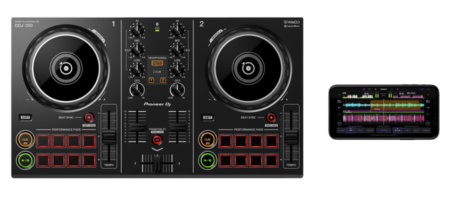 Pioneer DJ - DDJ-200 2 Kanal Controller