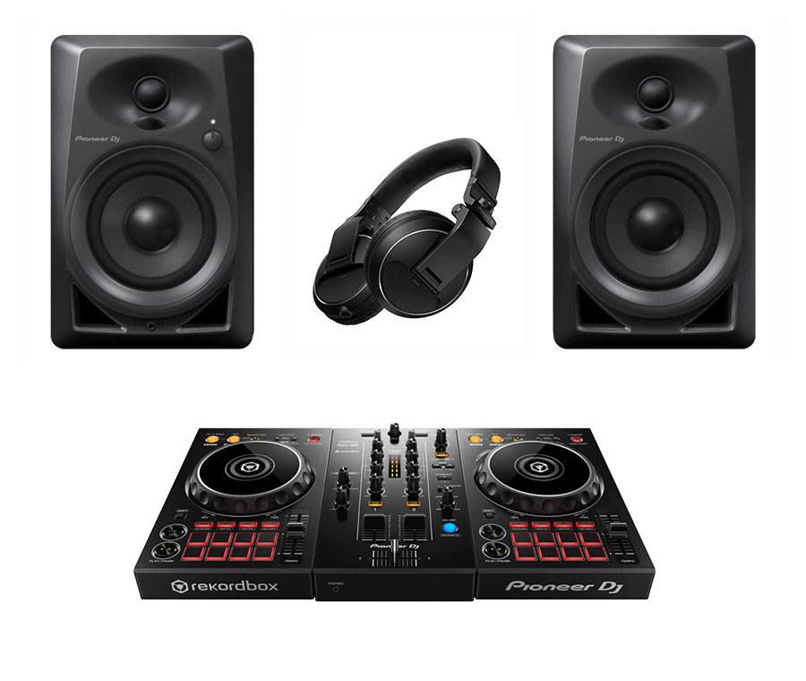 Pioneer DJ DDJ 400 FULL PAKET (DM-40 Hoparlör ve HDJ X-5 ile)