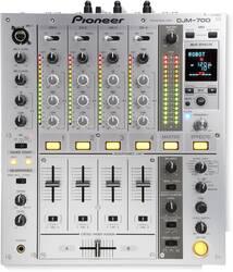 Pioneer DJ - Pioneer DJ DJM-700-S 4 Kanal Dj Mixeri
