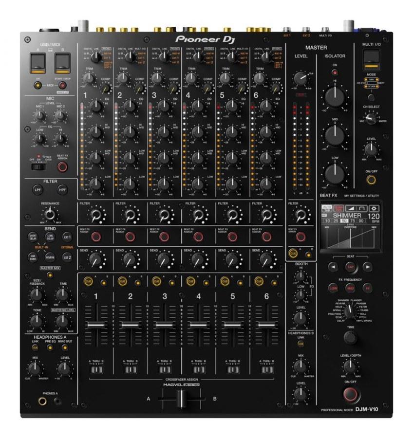 Pioneer DJ DJM-V10 6 Kanal Profesyonel DJ Mixer