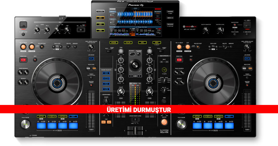Pioneer DJ XDJ-RX DJ Setup