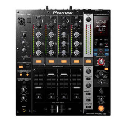 Pioneer DJ - Pioneer DJ DJM 750 4 Kanal Ses Kartlı Dj Mikser