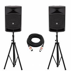 """InfoMusic Ses Paketleri - Portatif Aktif 12"""" Kablosuz Ses Sistemi Paket"""
