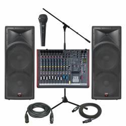 InfoMusic Ses Paketleri - Portatif Düğün Etkinlik Kule Paketi