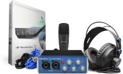 PreSonus - PRESONUS AudioBox 96 Stüdyo Kayıt Paketi