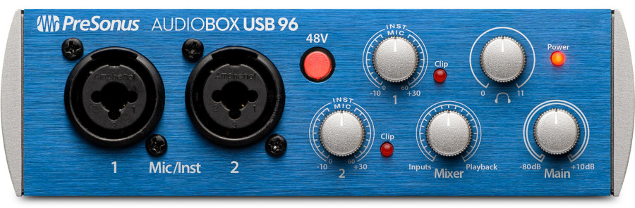 Presonus Audiobox 96 Ultimate Pack