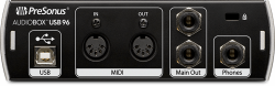 PRESONUS AudioBox 96 USB Ses Kartı - Thumbnail