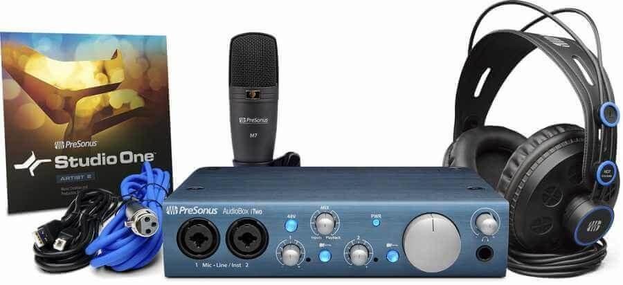 PRESONUS AudioBox iTwo Stüdyo Kayıt Paketi