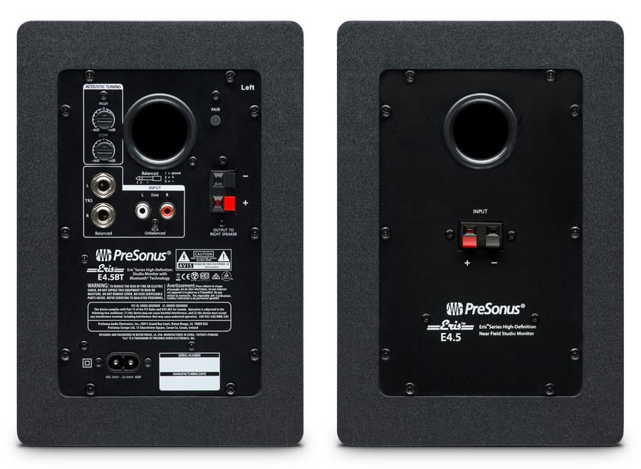 PreSonus Eris E4.5 BT Bluetoothlu Stüdyo Referans Monitörü (Çift)
