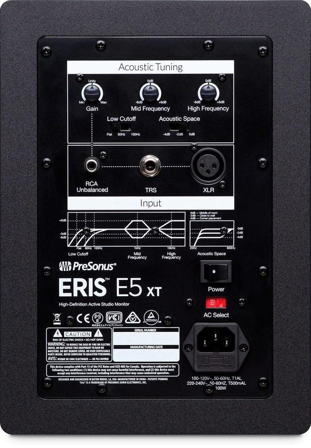 Presonus Eris E5 XT Aktif Stüdyo Referans Monitörü (Çift)
