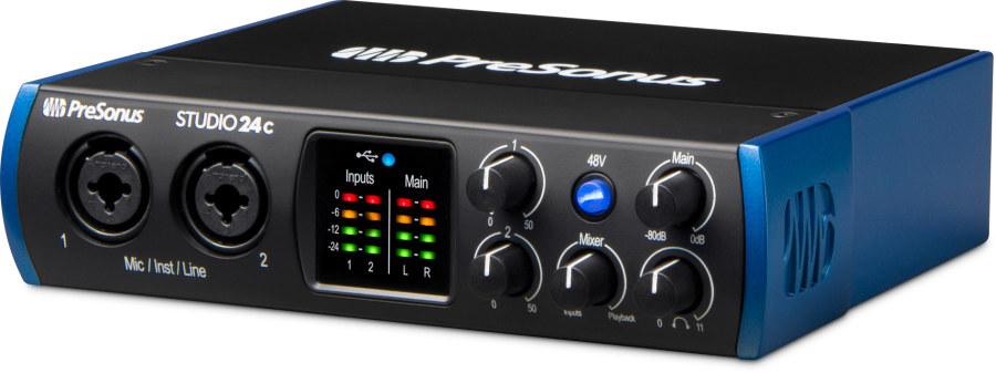 Presonus Studio 24c - 2 Giriş/ 4 Çıkış Type-C Ses Kartı