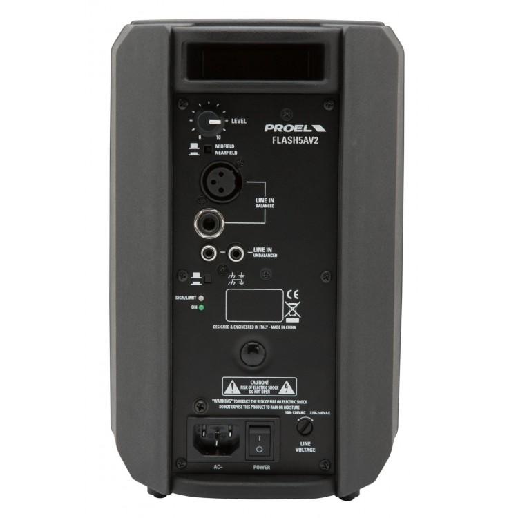"""Proel FLASH5AV2 - 5"""" 200 Watt Aktif Hoparlör"""