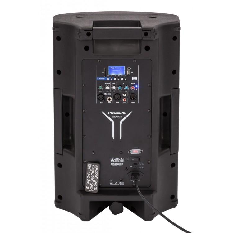 """Proel WAVE12A - USB Bluetooth 12"""" 400 Watt Aktif Hoparlör"""