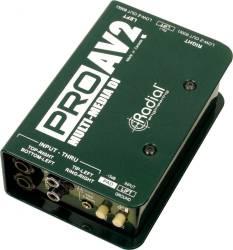 Radial Engineering - Radial Engineering - ProAV2 Stereo Multimedia D.I Box