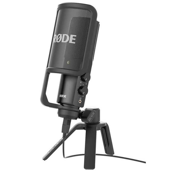 RODE NT-USB Dahili Ses Kartlı Conderser Stüdyo Mikrofon
