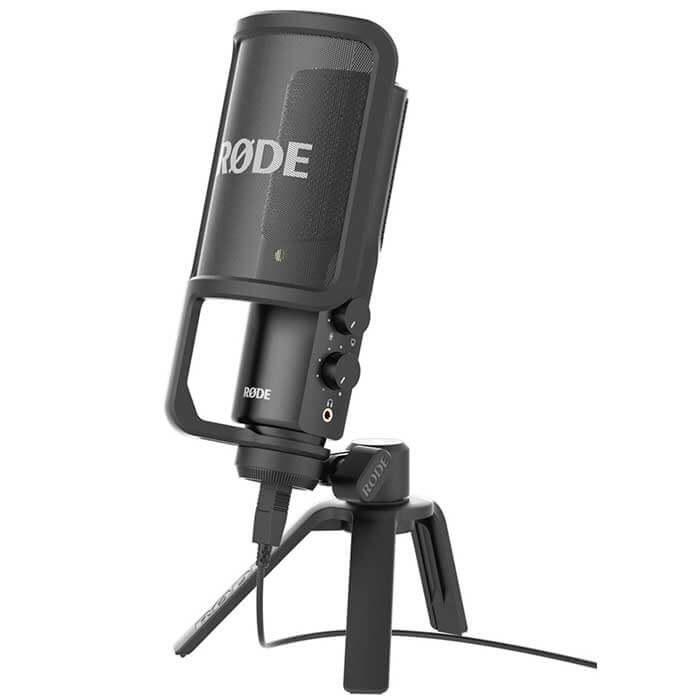 RODE NT-USB Dahili Ses Kartlı Condenser Stüdyo Mikrofon