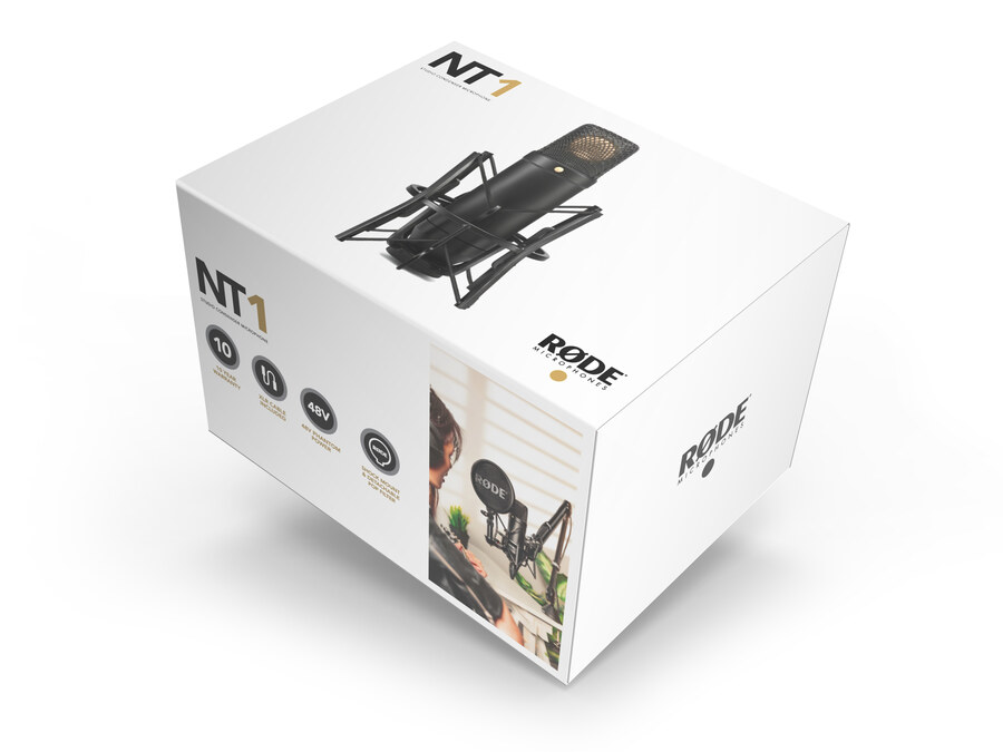 RODE NT1 Kit (mount ile birlikte) - Kardiot Kondensatör Mikrofon