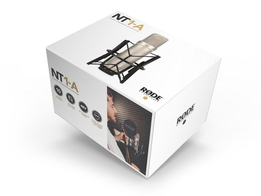 RODE NT1-A Stüdyo Kayıt Mikrofonu (Mount ile birlikte)