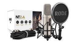 Rode - RODE NT2-A - Multi Pattern Condenser Mikrofon (mount ile birlikte)