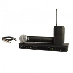 Shure - Shure BLX288E/SM58 Kablosuz İkili EL ve Yaka Mikrofon seti