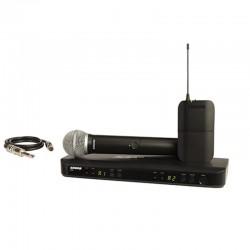 Shure - Shure BLX1288E/W85 Kablosuz İkili EL ve Yaka Mikrofon seti