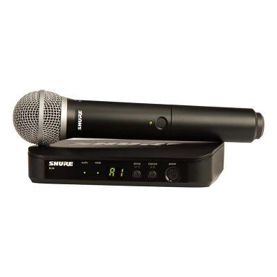 Shure BLX24E/PG58 Kablosuz PG 58 Kapsül El Mikrofonu