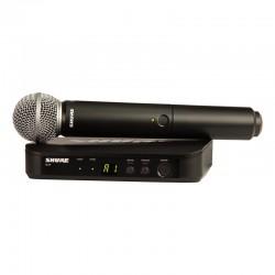 Shure - Shure BLX24E/SM58 Kablosuz SM58 kapsül El Mikrofonu