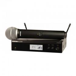 Shure - Shure BLX24RE/PG58 Rack Tipi Kablosuz PG 58 Kapsül El Mikrofonu
