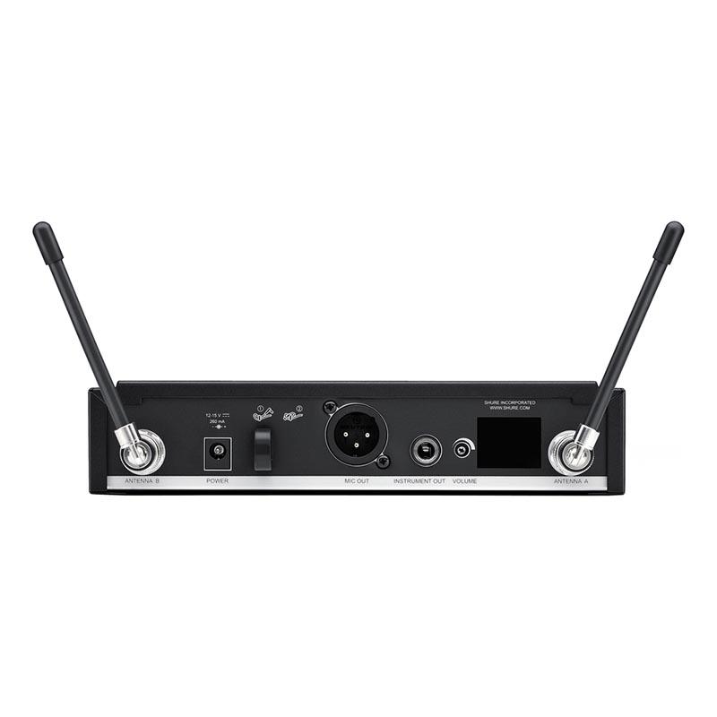 Shure BLX24RE/SM58 Rack Tipi Kablosuz SM58 kapsül El Mikrofonu