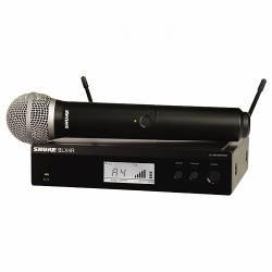 Shure - Shure BLX24RE/B58 Rack Tipi Kablosuz BETA 58 kapsül El Mikrofonu