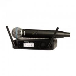 Shure - Shure GLXD24E/B58 Kablosuz BETA 58 Kapsül El Mikrofonu