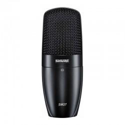 Shure - Shure SM27-LC Çok Amaçlı Geniş Diyafram Condenser Mikrofon