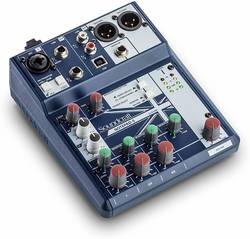 Soundcraft - Soundcraft Notepad 5 5 Kanal Analog USB Mixer