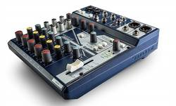 Soundcraft Notepad 8FX 8 Kanal Efektli Analog USB Mikser - Thumbnail