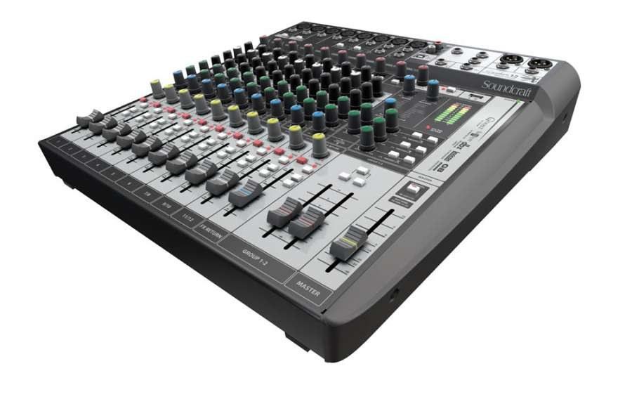 Soundcraft Signature 12 12 Kanal Efektli Analog Mixer