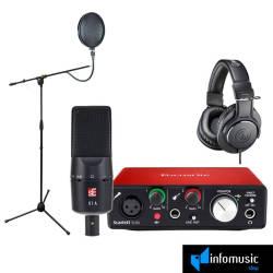 InfoMusic Stüdyo Paketleri - Başlangıç Seviye Home Stüdyo Paketi