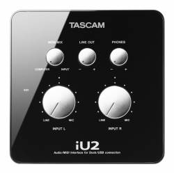 Tascam - Tascam iU2 Audio MIDI Recording Interface For iOS (OUTLET)
