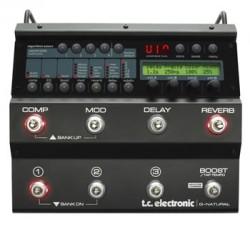 TC Electronic - TC ELECTRONIC G-Natural - Gitar için Efekt İşlemci + Tuner + Mikrofon Preamfisi